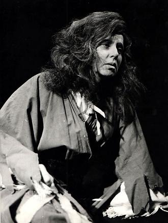 G. Verdi: Trubadúr - Nina Hazuchová (Azucena) - SND Bratislava 1963 (foto Jozef Vavro)