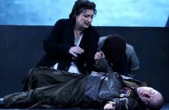 Ch.Gounod: Faust - Adriana Kohútková (Marguerite), Sergej Tolstov (Valentin) - SND Bratislava (foto archiv SND)