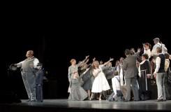 Hold velkému alžbětinci v budapešťské opeře