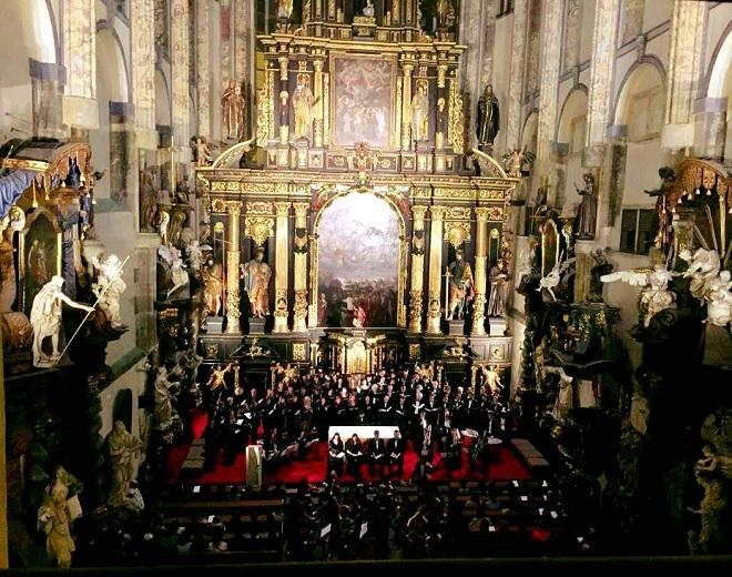 Provedení Mozartova Requiem (kostle Panny Marie Sněžné)