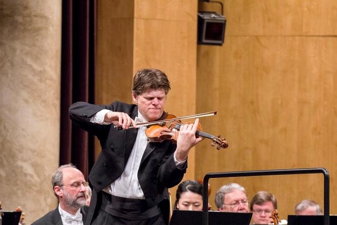 Symfonický orchestr hlavního města Prahy FOK - Guy Braunstein - Janáčkův máj 2016 (foto Jakub Mičovský)