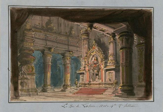 J.Massenet - Le Roi de Lahore a Cid (design Philippe Chaperon)