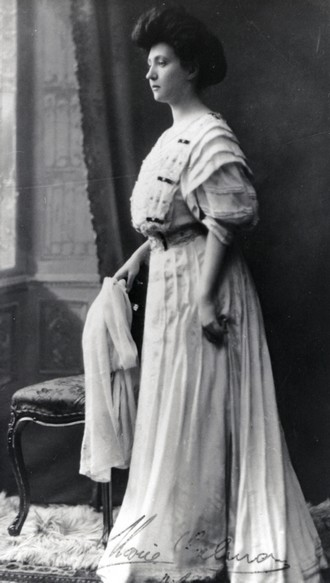Marie Calma Veselá (1908) (foto archiv MJVM ve Zlíně)