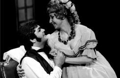 G.Verdi: La traviata - Peter Dvorský (Alfred Germont), Marta Boháčová (Violetta Valéry) - ND Praha 1979 (foto Jaromír Svoboda)