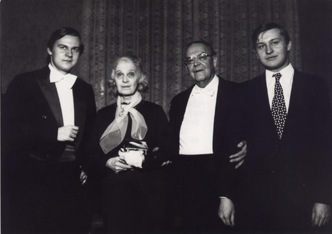 Miroslav Vilímec, Anita Kubelíková, Alfréd Holeček, Vladislav Vilímec (zdroj miroslavvilimec.cz)