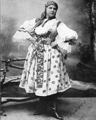 Leoš Janáček: Její pastorkyňa - Leopoldina Hanusová (Kostelnička) - ND Brno 1904 (foto archiv ND Brno)