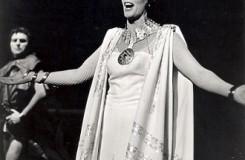 R.Strauss: Salome - Elena Kittnarová (Salome) - SND Bratislava 1976 (foto Jozef Vavro)