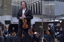 Slovenská filharmónia & Kaspar Zehnder – Piotr Plawner (husle) - Koncertná sieň SF Bratislava 2016 (foto © Ján Lukáš)