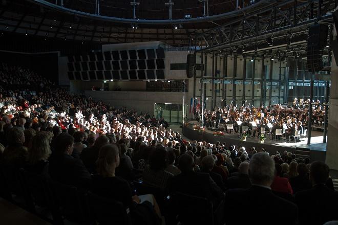 Zahajovací koncert v multifunkční aule Gong 2012 (zdroj Janáčkův máj)