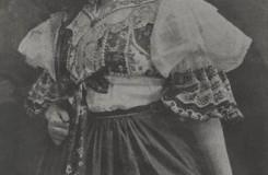 Leoš Janáček: Její pastorkyňa - Kamila Ungrová (Jenůfa) - ND Praha 1916 (foto archiv ND Praha)