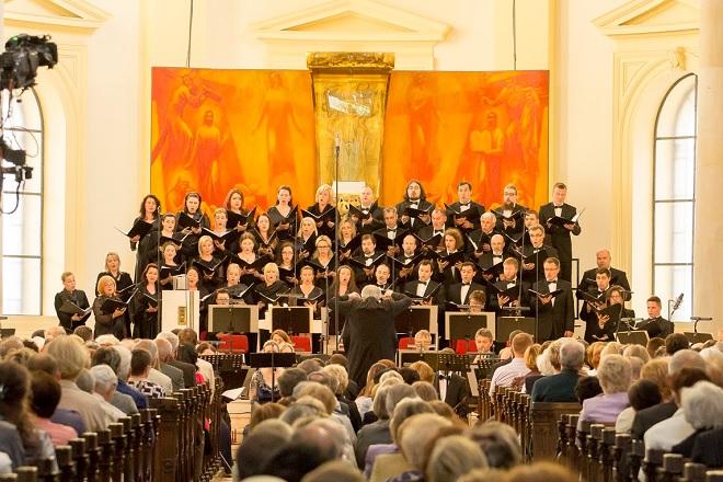 Český filharmonický sbor Brno, Janáčkova filharmonie Ostrava, Petr Altrichter - Janáčkův máj 2016 (foto Solokapr / Petr Bohuš)