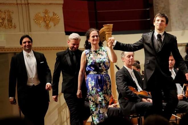 Antonín Dvořák: Svatební košile - Wiener Konzerthaus Vídeň 2016 (foto FB)