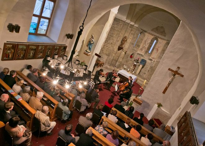 Van Kuijk Quartet - Concentus Moraviae 2016 - Řeznovice (foto Jiří Sláma)
