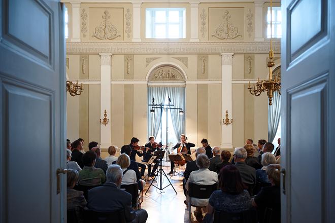 Van Kuijk Quartet - Concentus Moraviae 2016 - Boskovice (foto Adam Dušek)