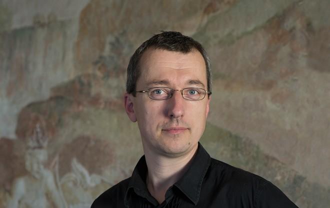 Tomáš Hanzlík (foto Muzeum umění Olomouc/Zdeněk Sodoma)