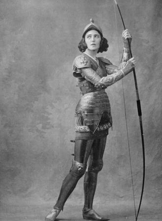 Ida Rubinstein jako Jana z Arku (foto archiv)