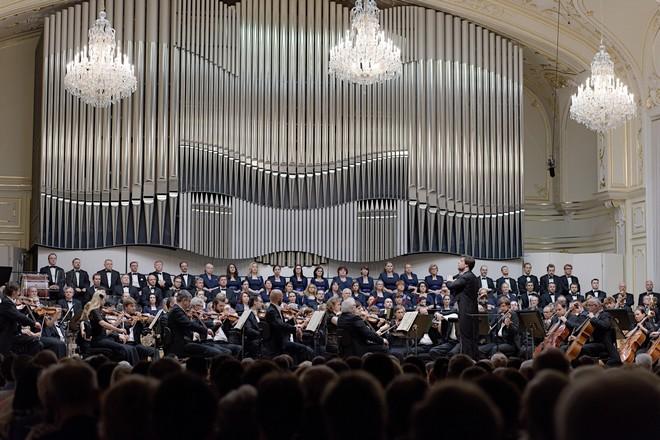 Óda na radosť - Slovenská filharmónia, Juraj Valčuha - Koncertná sieň Slovenskej filharmónie Bratislava 2016 (foto © Ján Lukáš)