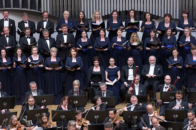 Óda na radost - Slovenská filharmónia, Slovenský filharmonický zbor - Koncertná sieň Slovenskej filharmónie Bratislava 2016 (foto © Ján Lukáš)