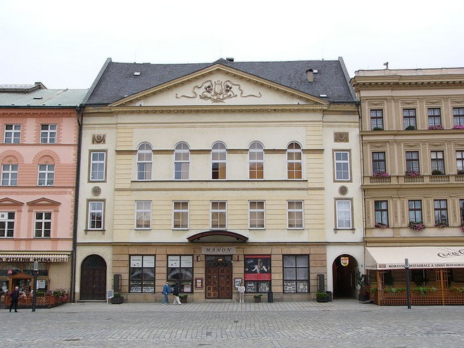 Moravské divadlo Olomouc (zdroj commons.wikimedia.org/Michal Maňas)