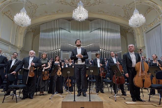 Óda na radost - Slovenská filharmónia, Juraj Valčuha - Koncertná sieň Slovenskej filharmónie Bratislava 2016 (foto © Ján Lukáš)