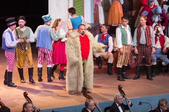 Antonín Dvořák: Čert a Káča - Jaroslav Březina (Ovčák Jirka) - Smetanova Litomyšl 2016 (foto František Renza Smetanova Litomyšl)