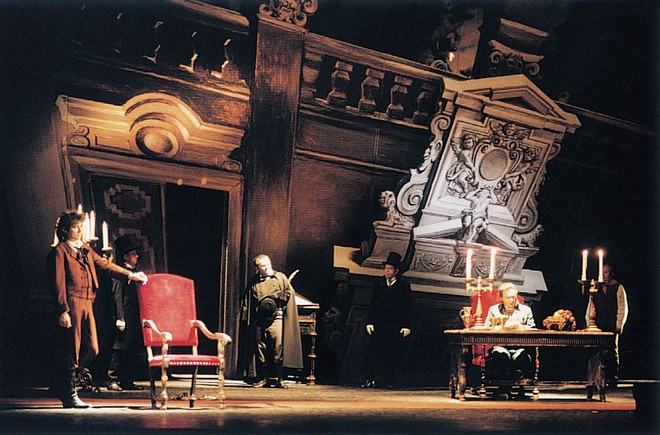 G. Puccini: Tosca - SO Praha (foto archiv ND)