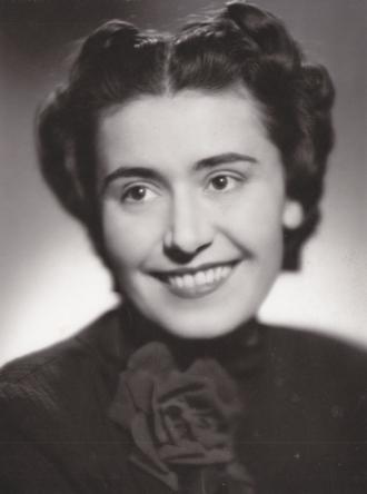 Růžena Hořáková (1941 - foto archiv NDB)