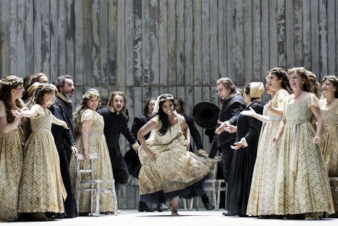 Vincenzo Bellini: I puritani - Opernhaus Zürich 2016 (foto Opernhaus Zürich)