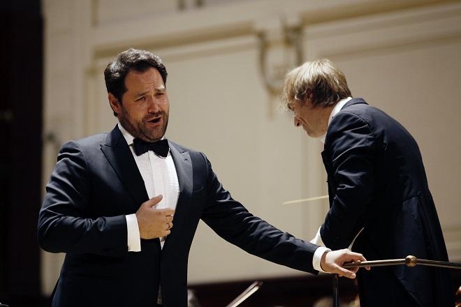 Ildar Abdrazakov, Fabio Mastrangelo, PKF-Prague Philharmonia - Praha 13.6.2016 (foto Jiří Vaněk)
