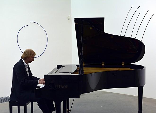 Ivo Kahánek - Procházky Uměním - Museum Kampa 2016 (foto Vojtěch Žák)
