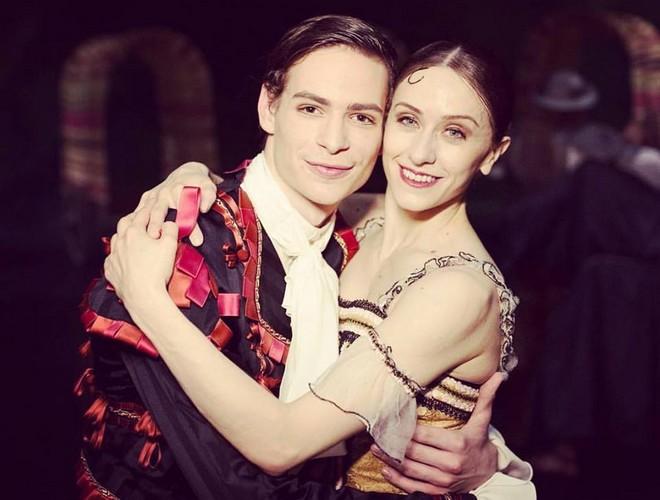 Jakob Feyferlik a hviezda Royal Balletu z Londýna Marianela Núñez (foto archív Jakoba Feyferlika)