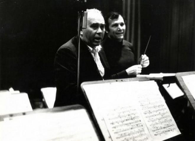 Josef Veselka a Georges Prêtre (archiv)