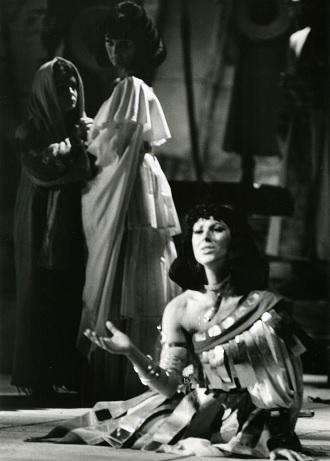 G.Verdi: Nabucco - Iva Malinová (Fenena) - DJKT Plzeň 1983 (foto archiv DJKT Plzeň)