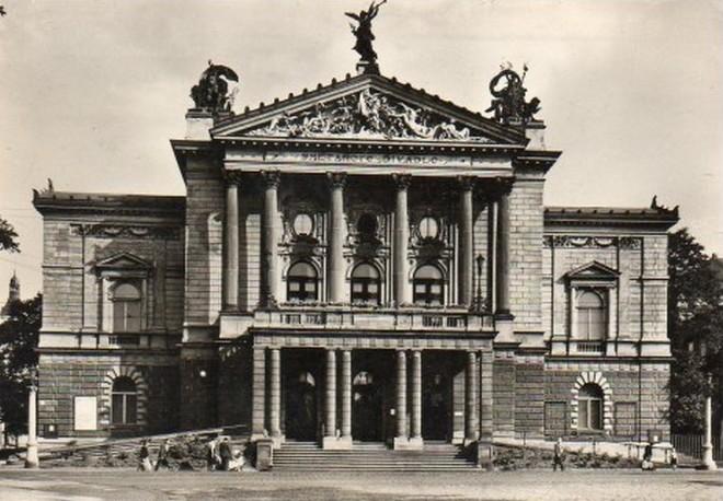 Smetanovo divadlo Praha - 1960 (foto archiv)