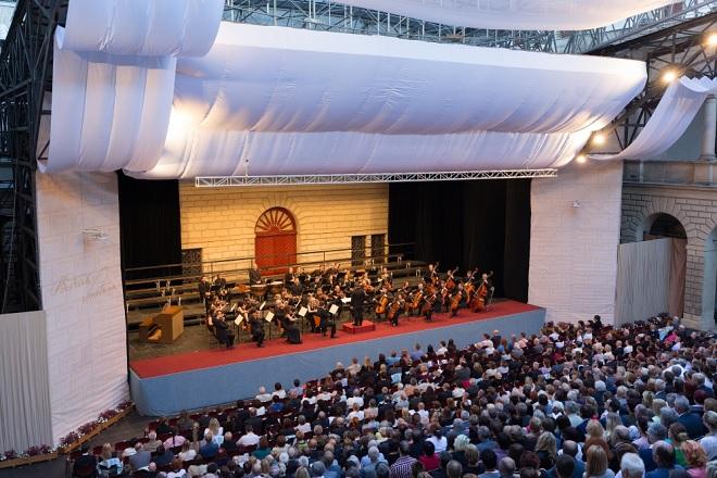 Trojhvězdí vídeňských klasiků - Česká Sinfonietta, Radek Baborák - Smetanova Litomyšl 2016 (foto František Renza)