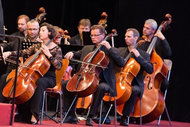 Trojhvězdí vídeňských klasiků - Česká Sinfonietta - Smetanova Litomyšl 2016 (foto František Renza)