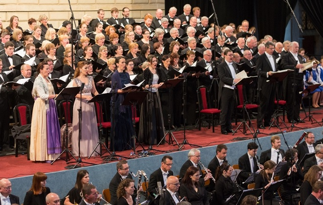 G.Mahler: Symfonie tisíců - Smetanova Litomyšl 2016 (foto František Renza)