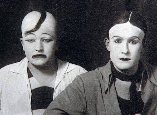 Jan Werich a Jiří Voskovec (foto Česká televize)