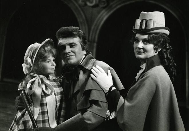 A.Dvořák: Jakobín - Vilém Míšek (Bohuš z Harasova), Ivanka Malinová (Júlie) - DJKT Plzeň 1986 (foto archiv DJKT)