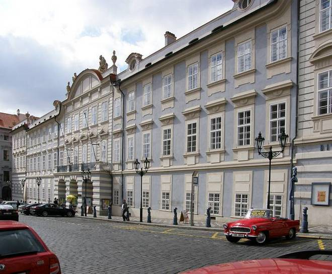 Lichtenštejnský palác v Praze (foto archiv)