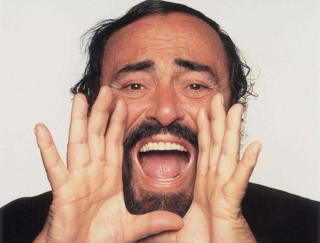 Luciano Pavarotti (foto archiv)