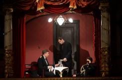 Bernd Alois Zimmermann: Die Soldaten - Kay Stiefermann (Mary), Holger Falk (Stolzius), Martin Koch (Desportes) - Staatstheater Wiesbaden 2016 (foto Karl & Monika Forster/ Staatstheater Wiesbaden)