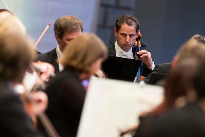 Smetanova Litomyšl 2016: Slavnostní zahajovací koncert - PKF-Prague Philharmonia - Zámecké nádvoří Litomyšl 2016 (foto Smetanova Litomyšl)