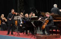 Fascinující Dvořákovo trio spolu s PKF při zahájení Smetanovy Litomyšle
