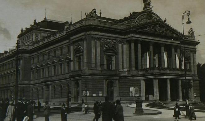 někdejší Divadlo Na hradbách Brno (foto archiv)