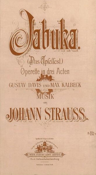Johann Strauss: Jabuka - klavírní výtah (foto archiv autorky)