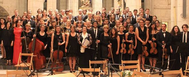 European Medical Students' Orchestra and Choir (foto FB souboru)