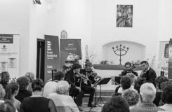 Setkání s hudbou v Soběslavi - Zemlinského kvarteto - Kostel sv. Marka Soběslav 2016 (foto FB Setkání s hudbou)