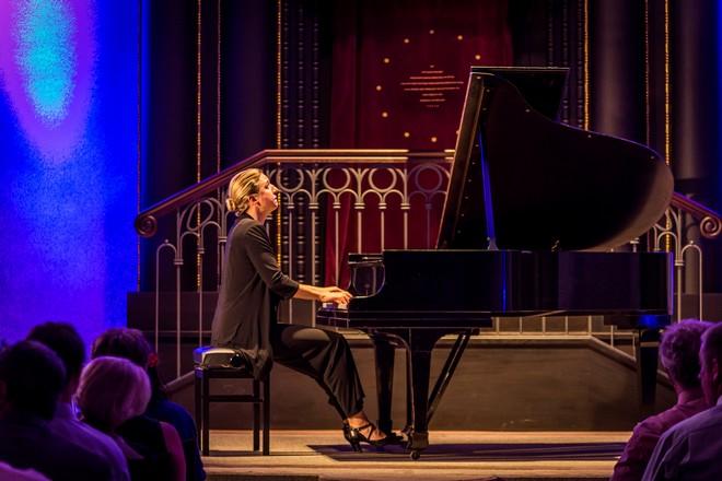 Ragna Schirmer - Festival komorní hudby Český Krumlov, 2.7.2016 (foto Lubor Mrázek)