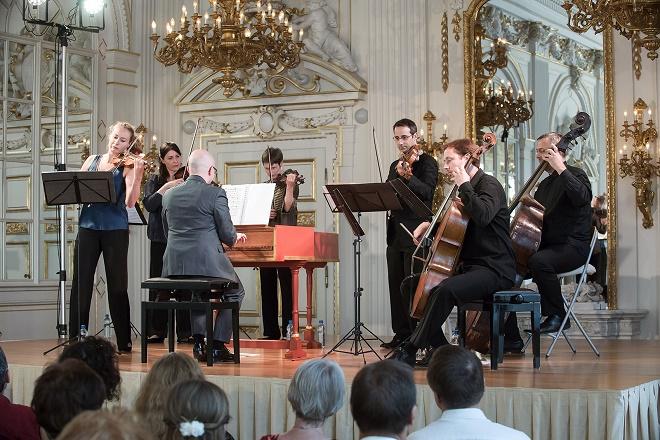 La favorita - Cecilia Bernardini, Cecilia con Amici - Letní slavnosti staré hudby 2016 (foto Petra Hajská)